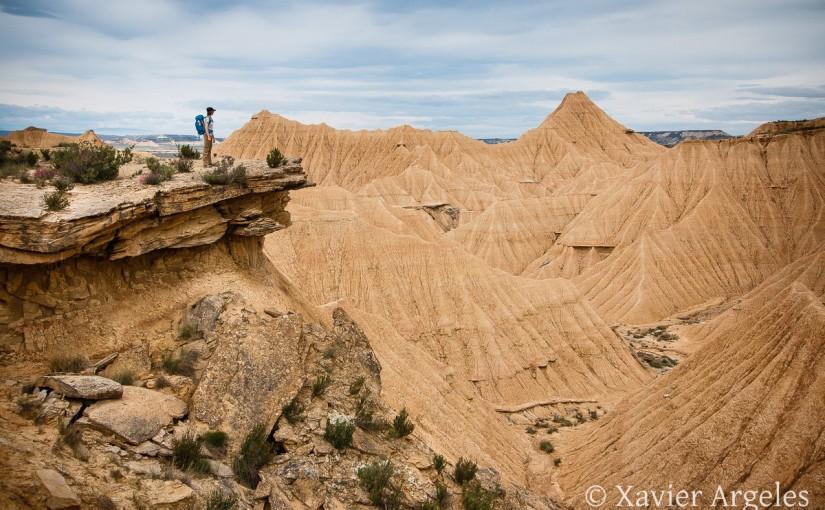 Randonnée dans le désert des Bardenas