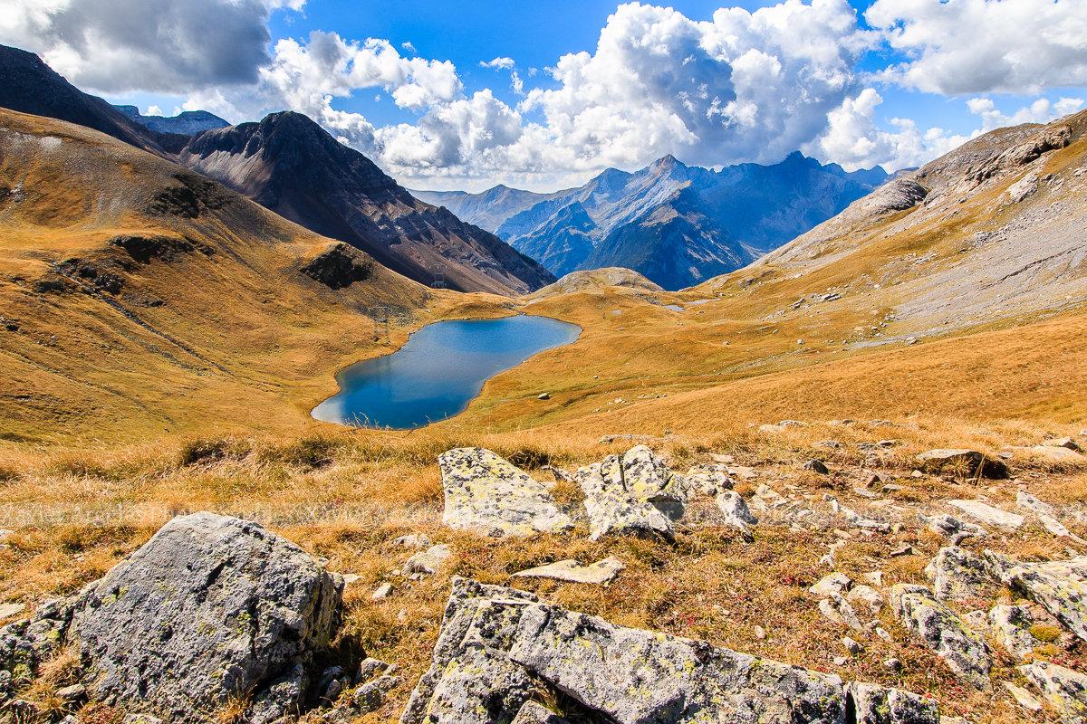 Ibon de Lapazosa dans les Pyrénées